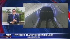 Elon Musk's Hyperloop project underway in Maryland