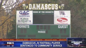 Sources: Damascus HS football player sentenced to community service in alleged rape case
