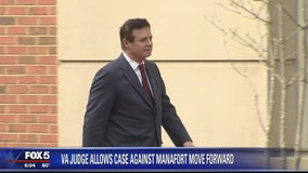 Judge in Virginia lets case against Manafort move forward