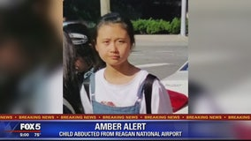 AMBER ALERT: 12-year-old girl from China believed to be abducted at Reagan National Airport