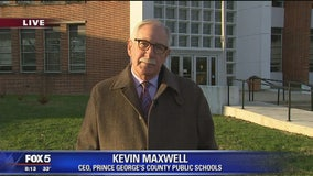 CEO of Prince George's County Schools, Dr. Kevin Maxwell talks on unauthorized pay raises, National Walkout Day