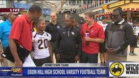 Hometown Team: Oxon Hill High School varsity football team