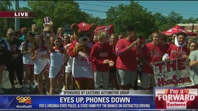 Eyes Up, Phones Down Teen Drivers Safety Campaign