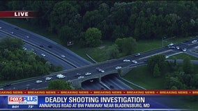 Deadly shooting in area of Baltimore-Washington Parkway in Maryland