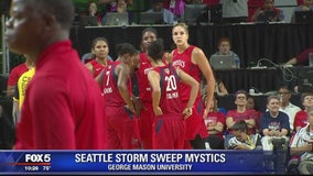 Storm sweep Mystics in WNBA Finals