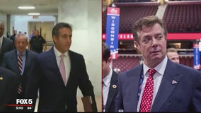 Cohen-Manafort fallout for President Trump