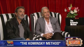 'The Kominsky Method': Michael Douglas and Chuck Lorre chat with Kevin McCarthy about latest project