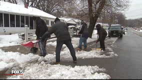 Good Samaritans continue tradition to help dig elderly neighbors out from the snow