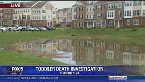Toddler dies after drowning in retention pond in Va.