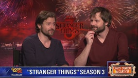 Stranger Things creators, the Duffer Brothers, talk season 3