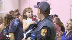 Virginia Task Force 1 returns home after deployment for hurricane response efforts