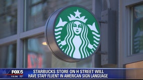 Starbucks store in DC to hire full staff fluent in American sign language