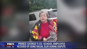 Prince George's County Public Schools employee accused of using racial slur during parking dispute