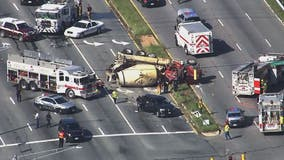 Violent Prince George's County crash on Indian Head Highway