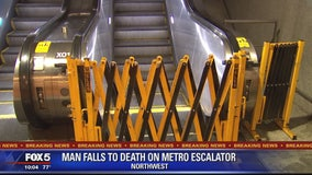 Man in wheelchair falls to his death attempting to ride escalator
