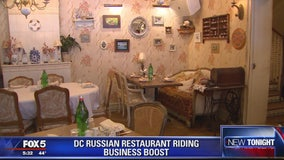 DC Russian restaurant says business has gone up despite Mueller investigation, tense relations