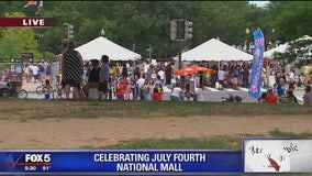 Thousands from all over come to DC for July Fourth