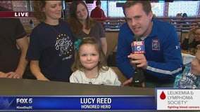 IHOP, LLS raise funds - in honor of Lucy - on this National Pancake Day