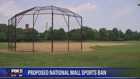 Locals to speak out on proposal to ban organized sports on National Mall fields