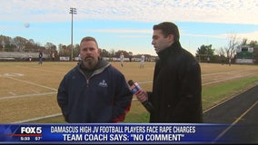 Damascus varsity team pressing on after sex assault arrests; coach declines to comment