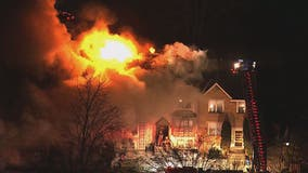 2-alarm townhouse fire in Olney