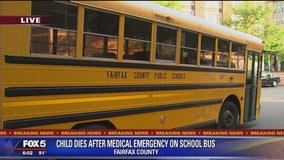 Police: Boy dies after medical emergency on Fairfax County school bus