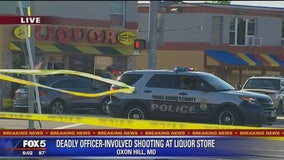 Deadly officer-involved shooting at liquor store in Prince George's County