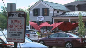 Spike in towing in Falls Church after opening of new coffee shop and restaurant