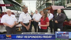 Zip Trip National Harbor: First Responders Friday