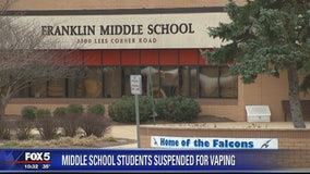 Nearly 2 dozen Fairfax County students suspended for vaping on school property