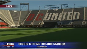 Ribbon-cutting ceremony held for DC United's new stadium, Audi Field