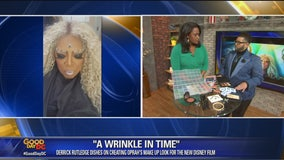 Derrick Rutledge dishes on doing Oprah's make up
