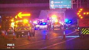 Outer Loop of Beltway closed at I-66 due to crash