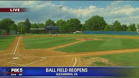 Nearly one week after shooting, Alexandria ballpark set to reopen