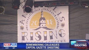 Victims of Capital Gazette shooting honored at benefit concert in Annapolis