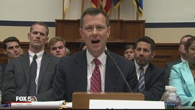 Fox 5 News On the Hill -- Heated hearing of FBI Agent Peter Strzok on Clinton emails, texts on then-presidential candidate Trump