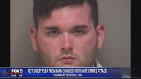 Charlottesville deadly car attack suspect pleads not guilty to hate crimes