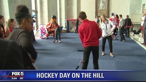 Hockey Day held on Capitol Hill for local students