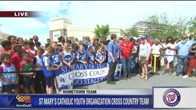 Laurel | Zip Trip: Washington Nationals Hometown Team St. Mary's Catholic Youth Cross Country