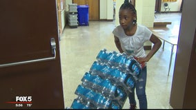 Prince George's County girl collects 3,000 cases of water for Puerto Rico