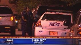 Child Shot in DC