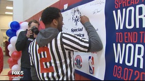 Wizards players take part Special Olympics DC Unified Game