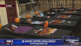 Six Flags America 30-Hour Coffin Challenge