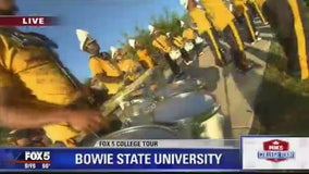 Bowie State marching band activities suspended amid hazing allegations