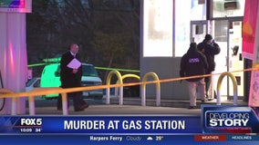 Man shot to death at District Heights gas station