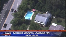 4-year-old girl, 51-year-old man drown in Anne Arundel County pool