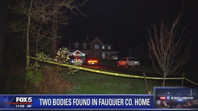 Authorities investigating 2 bodies found inside Fauquier County home