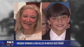 Mother, son from Lorton killed in Mexico tour bus crash