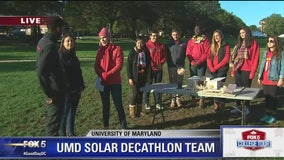 Solar Decathlon | The University of Maryland | FOX 5 College Tour