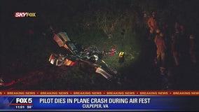 Pilot taking part in Culpeper Air Fest dies in small plane crash at Culpeper Regional Airport
